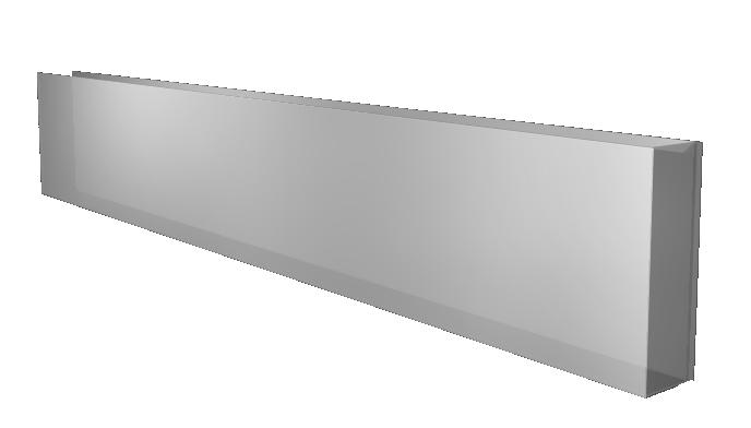 Plain Kick Plate