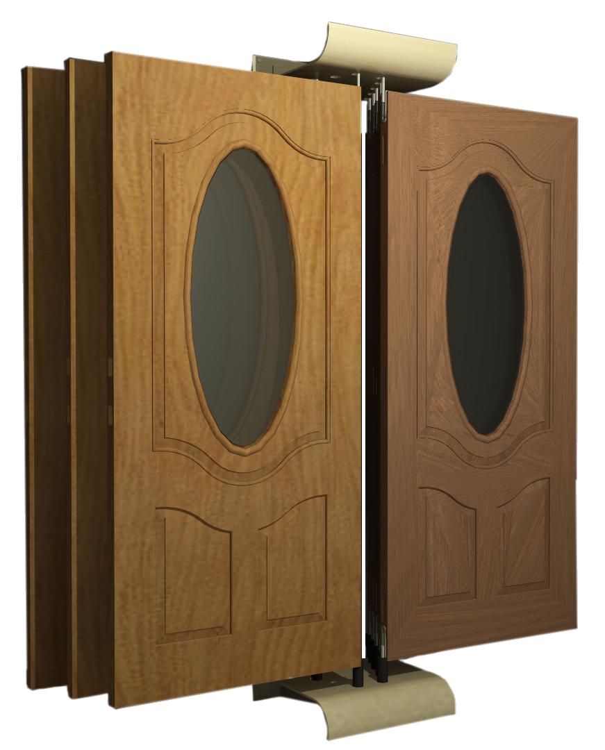 10w wall mount door display