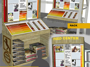 Large Format Store Display Ideas