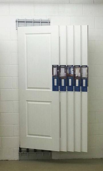 WallMount Inline door display