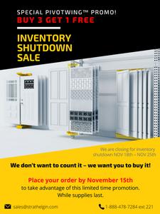 strath elgin inventory shutdown sale pivotwing