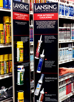 building products display