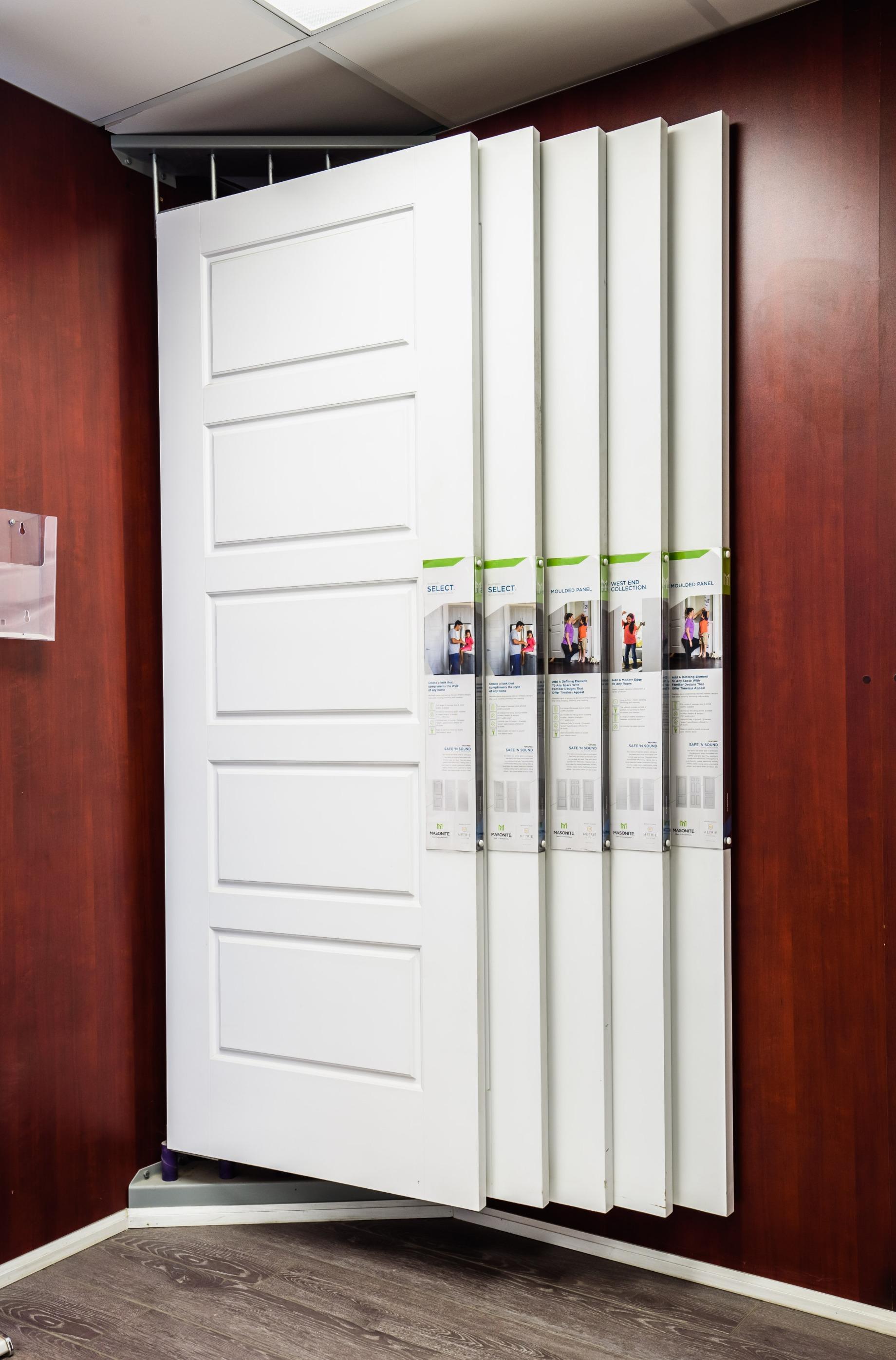 Barrie Trim showroom door display