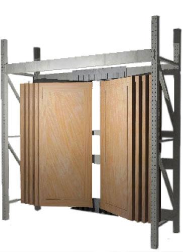 InLine door display bay