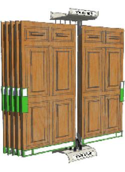 door displays exterior doors