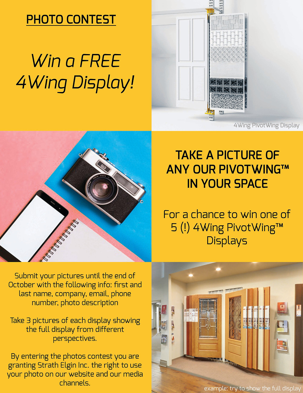 photo contest win a free 4wing display