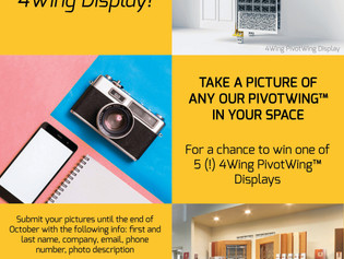Photo Contest: Win a FREE 4Wing Display!