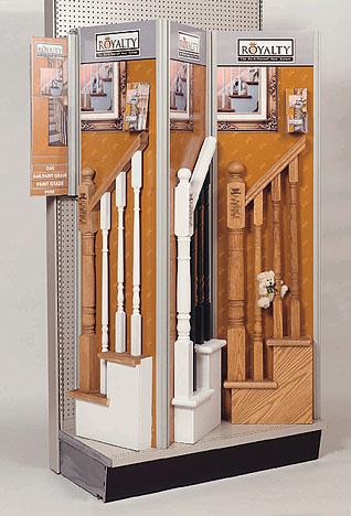 modular system display for retail freestanding