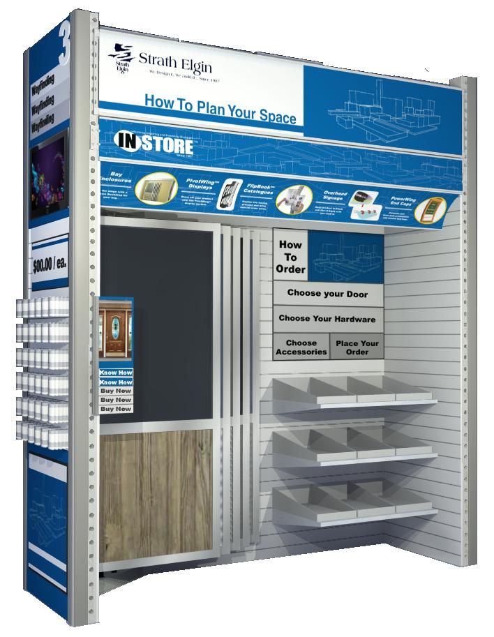 Sample Door Display