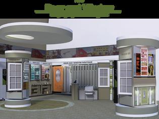 New Door and Window Display Systems Program