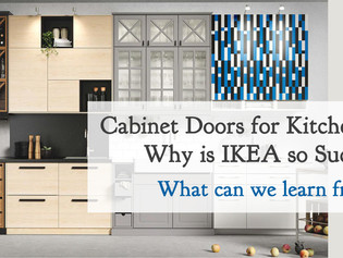 Cabinet Door Display System: What can we learn from IKEA to improve our spaces?