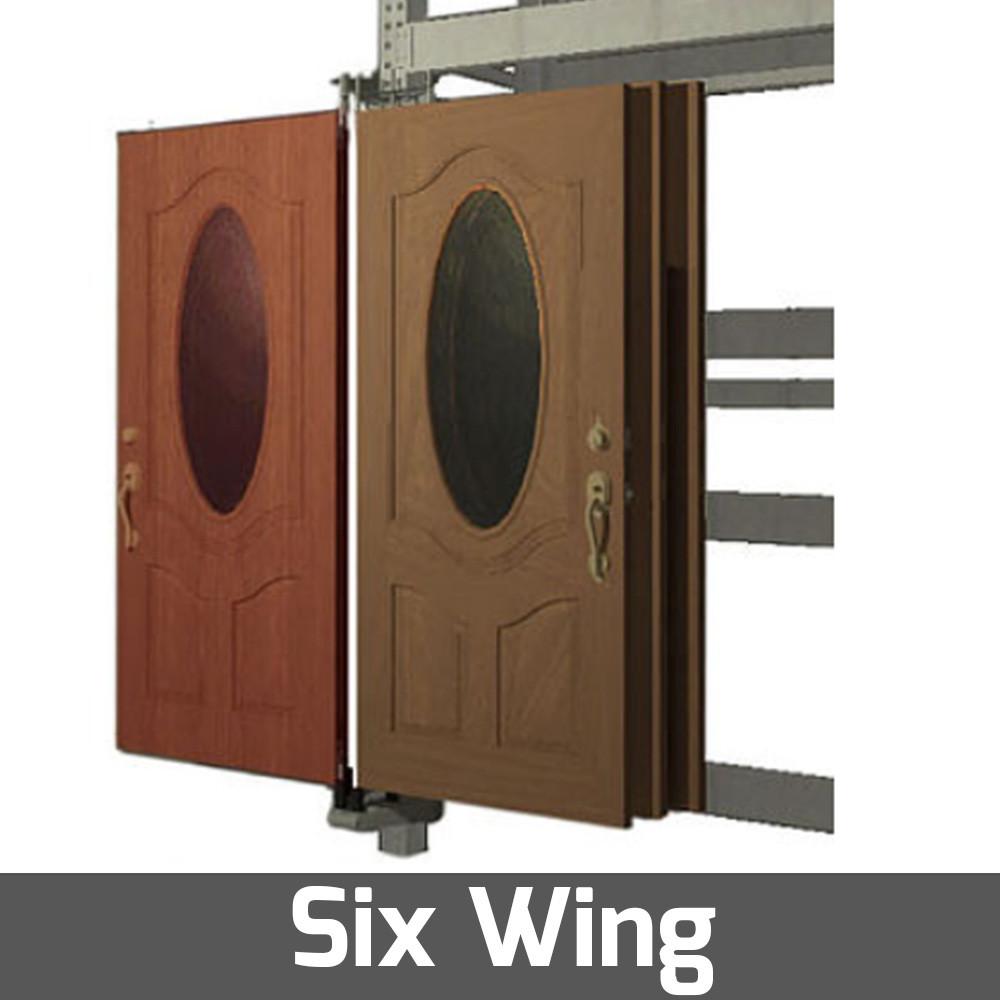 door display for rack environment