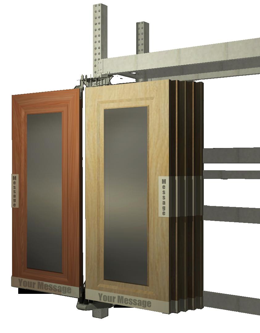 10w model (INT doors) with kickplate