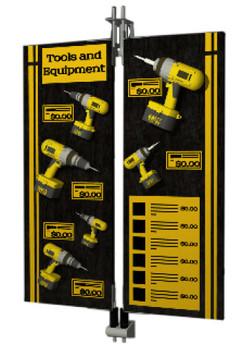 tools display
