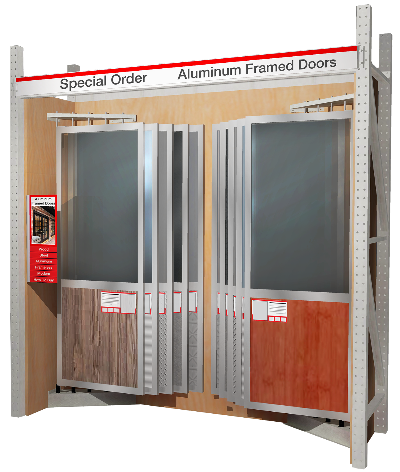 Corner Inline with Doors