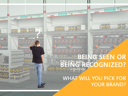 Being seen or being recognized? What will  you pick for your brand?