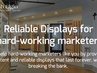 Reliable, retail displays for hard-working marketers