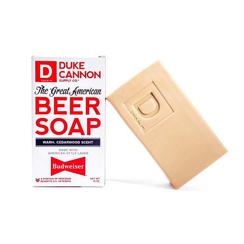 The Great American Budweiser Beer Soap