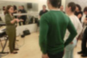 atelier chant Paris