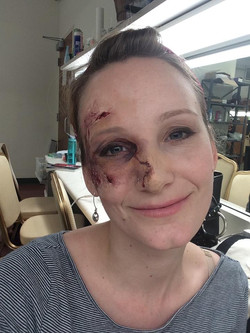 Wound Make-up w/ Prosthetic