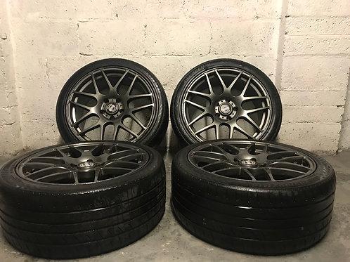 "BMW 19"" CSL Style Graphite Grey 1 2 3 4 5 6 7 Series"