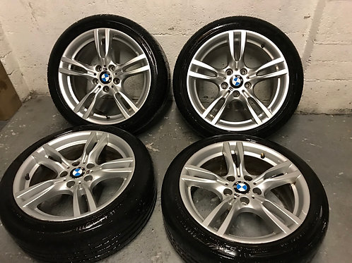 BMW 18 Inch Style 400M M Sport Alloys 3 4 320d 420d Series 5x120 18 Inch Stagger