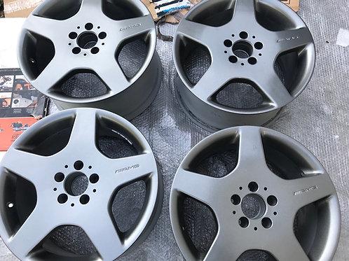 Genuine AMG Wheels 18 Inch Mercedes Alloys 5x112 Refurbished