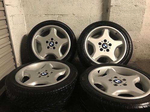 BMW 17 Inch Ultra Rare Style 16 Inch E34 E36 5x120  17 x 8J ET20