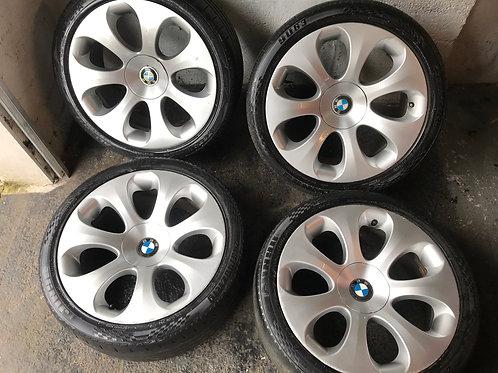 """Genuine Bmw 19 Inch 19"""" Style 121 Alloys Wheels 5x120 Ellipsoid 3 4 5 6 7 Series"""