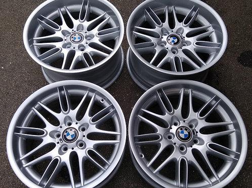 Genuine staggered BMW M5 E39 65 Alloys Wheels