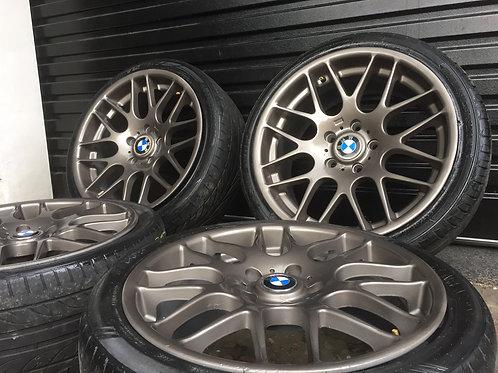 BMW 18 Inch CSL Concaved Rears Ferric Grey