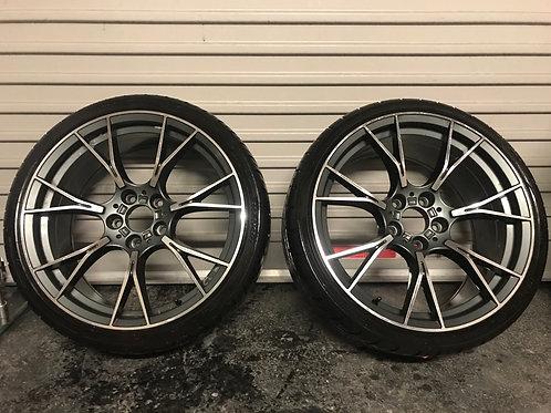 "BMW 19"" style 789M Grey/Diamond cut"