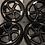 "Thumbnail: 18"" Audi TTRS Twist Style Black 18 Inch A1 A3 5x112 Alloys"