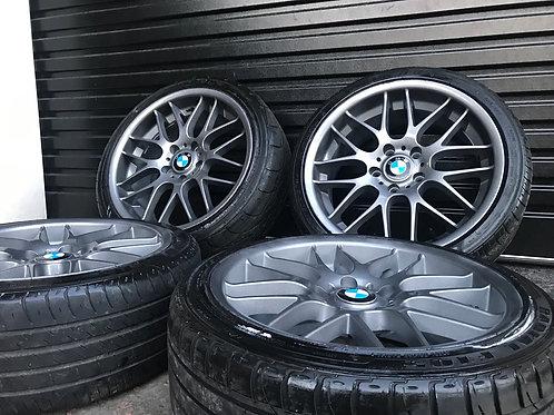 BMW 18 Inch CSL Alloys Refurbished 5x120 1 2 3 Series E90 E46 F10 E81