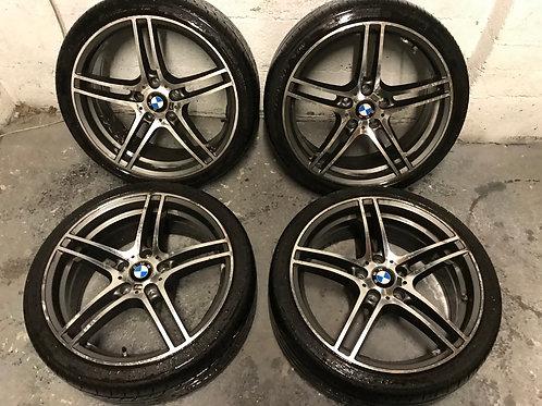 19 Inch BMW Style 313 M Performance Sport Alloys