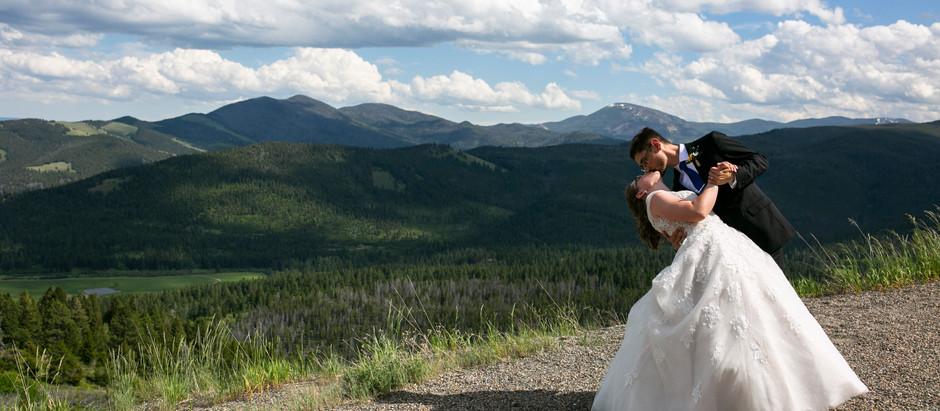 Montana Wedding Day