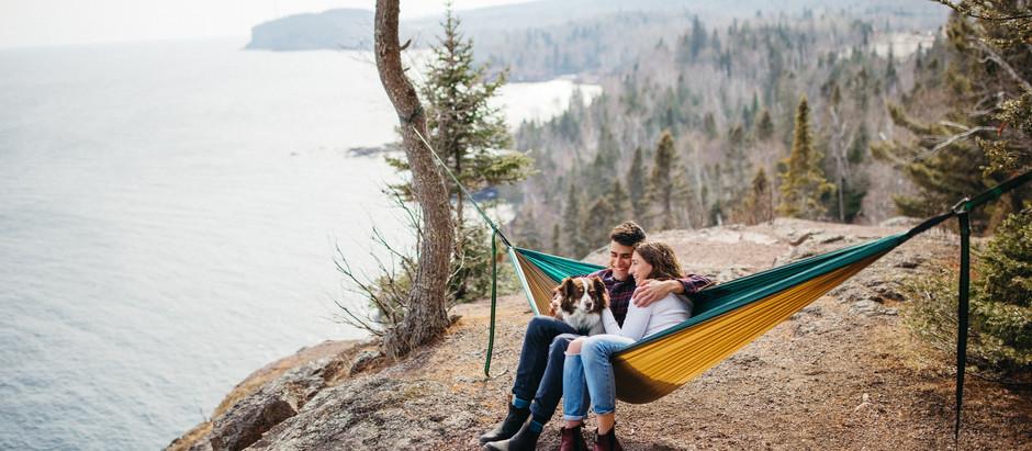 Tettegouche State Park Engagement Shoot