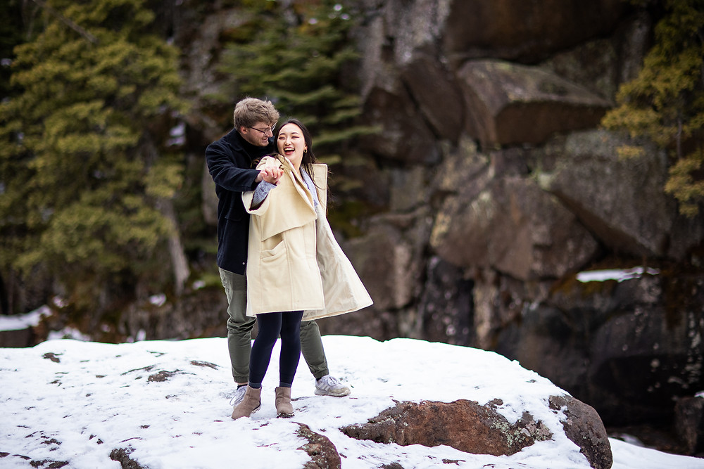 Elopement photographer Duluth MN