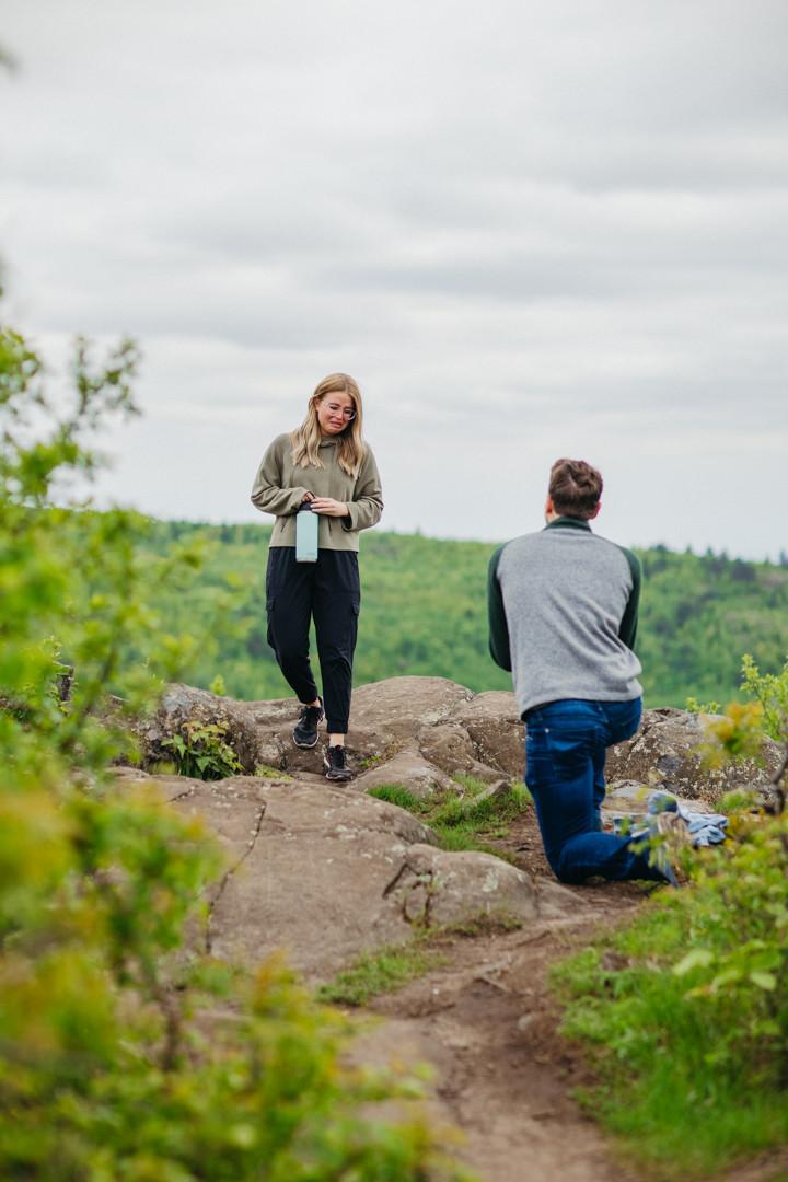 Duluth Minnesota Photographer Wedding Elopement Proposal