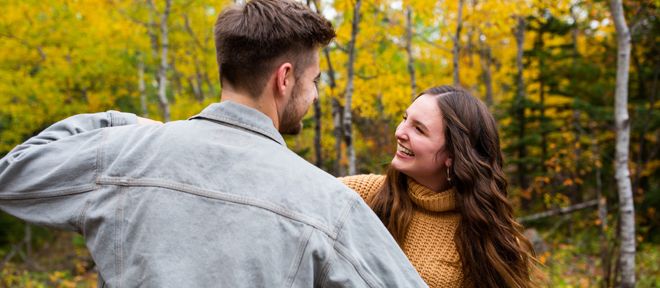 Fall Couples Session in Duluth, MN    Jo + Mitch