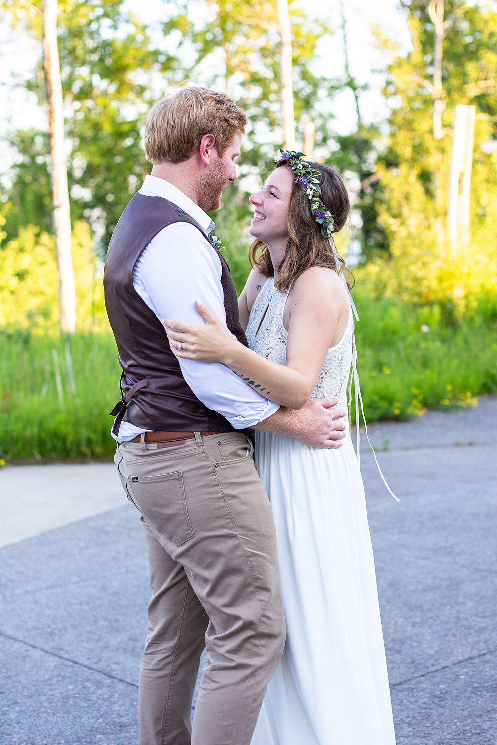 First dance on shores of Lake Superior