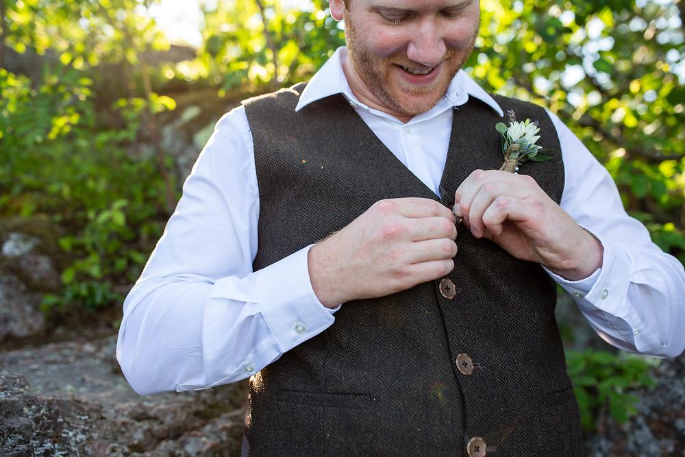 northwoods elopement photographer Duluth mn