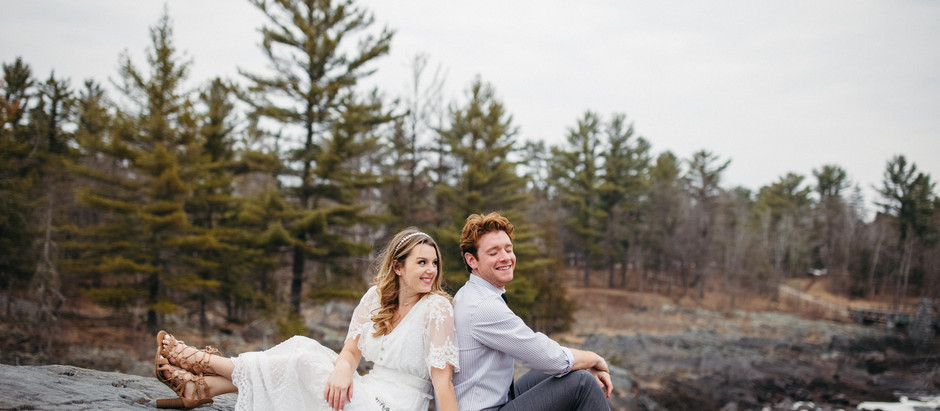 Jay Cooke State Park Elopement