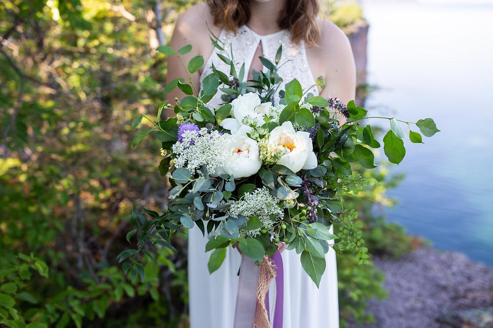 Lake Superior photographer elopement photographer