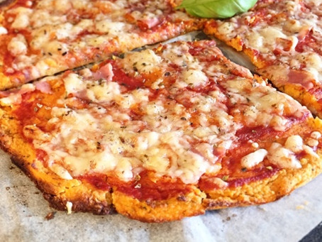 Sötpotatispizza