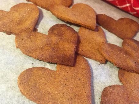 Perfekta pepparkakor (utan gluten, mjölk, vitt socker, ägg eller nötter -veganvänliga)