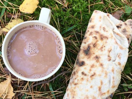 Varm choklad (plantbaserad & mjölkfri)
