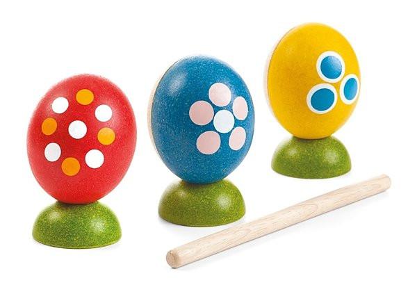 Egg Percussion Set