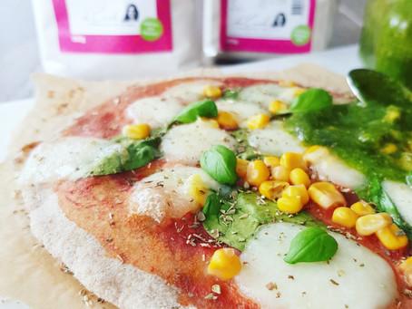 Pizzadeg med durra & teff