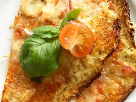 Blomkålspizza med parmasan